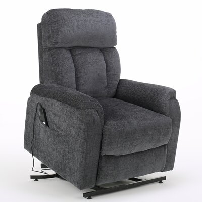 Sasha Power Lift Assist Recliner Color: Charcoal