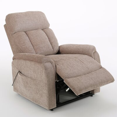 Sasha Power Lift Assist Recliner Color: Wheat