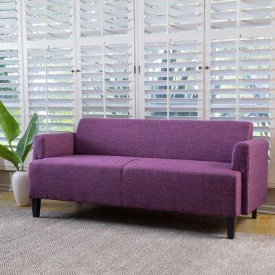 Studer Fabric Sofa Upholstery: Fuchsia