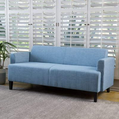 Studer Fabric Sofa Upholstery: Blue