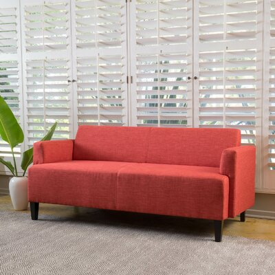 Studer Sofa Upholstery: Red