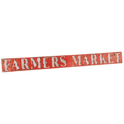 Farmers Market Sign Wall Décor