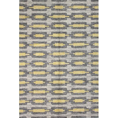 Barbados Hand-Tufted Grey Area Rug Rug Size: Rectangle 5 x 76