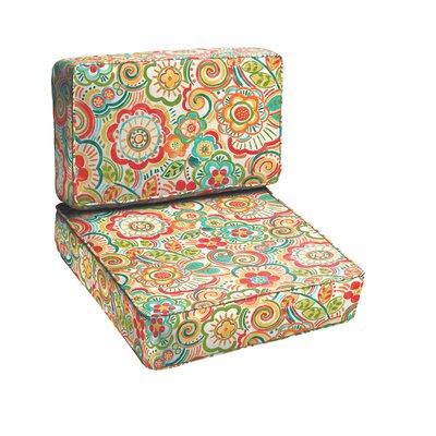Annette 2 Piece Outdoor Chair Cushion Set