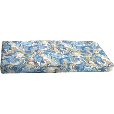 Betty Outdoor Bench Cushion Size: 48 x 19