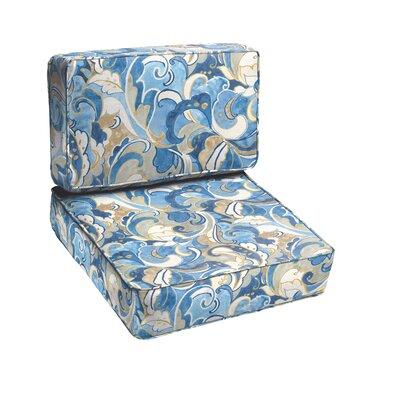 Betty 2 Piece Outdoor Chair Cushion Set
