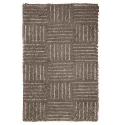 Millicent Hand-Woven Brown Area Rug Rug Size: 33 x 5