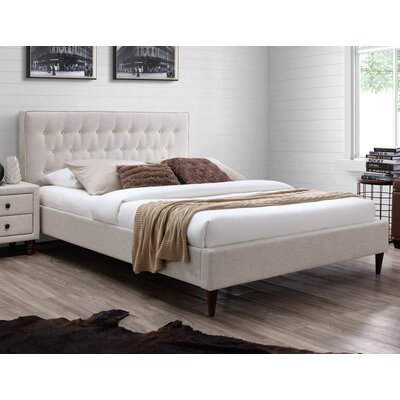 Nellie Upholstered Platform Bed