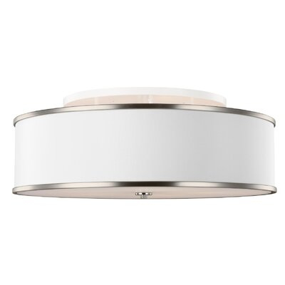 Nina 5-Light Semi-Flush Mount Finish: Nickle