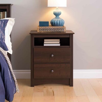 Penelope 2 Drawer Nightstand