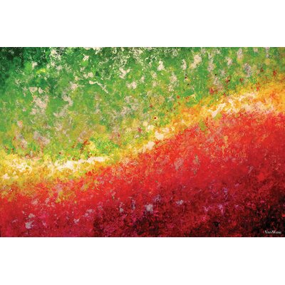 Equinox Painting Print on Wrapped Canvas Size: 12