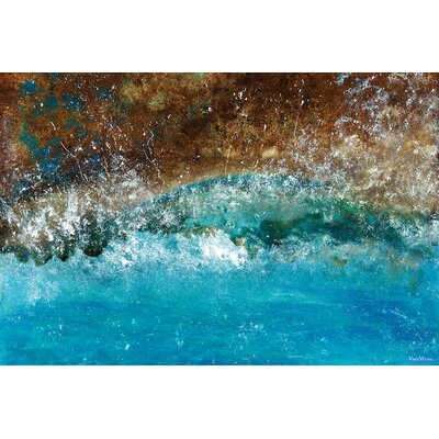 Distant Shores Painting Print on Wrapped Canvas Size: 12