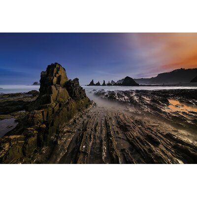 Magic Beach Photographic Print on Wrapped Canvas Size: 12