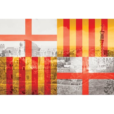 The City of Counts - Barcelona - A Medieval Beauty Photographic Print on Wrapped Canvas