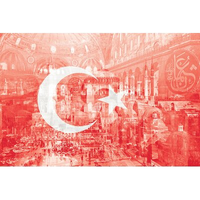 The City on Seven Hills - Istanbul - Straddler of Europe and Asia Photographic Print on Wrapped Canvas Size: 12