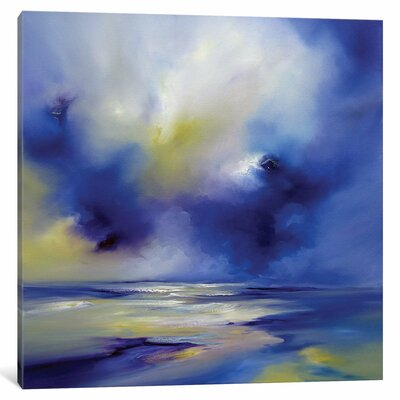 Blue Symphony II Original Painting on Wrapped Canvas