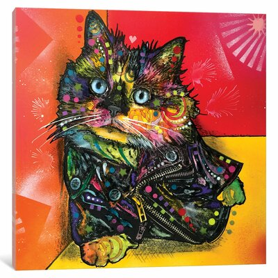 Albert the Ba Graphic Art on Wrapped Canvas