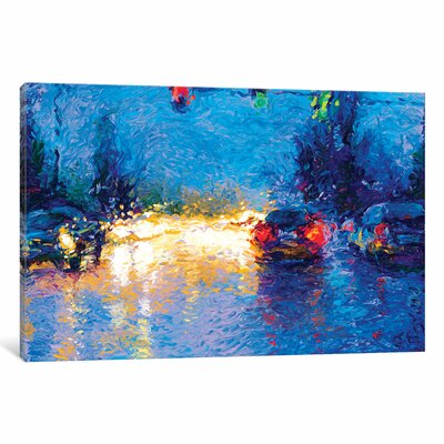 Iris Scott - Market Street Painting on Wrapped Canvas Size: 12