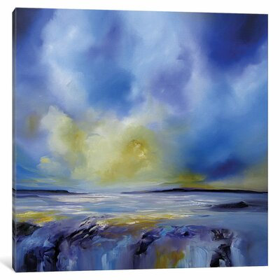 Blue Symphony I Original Painting on Wrapped Canvas