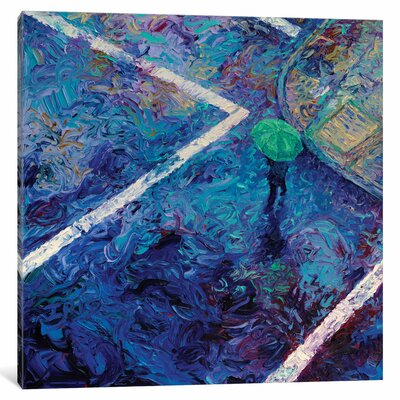 Iris Scott - Studio View Painting Print on Wrapped Canvas Size: 12