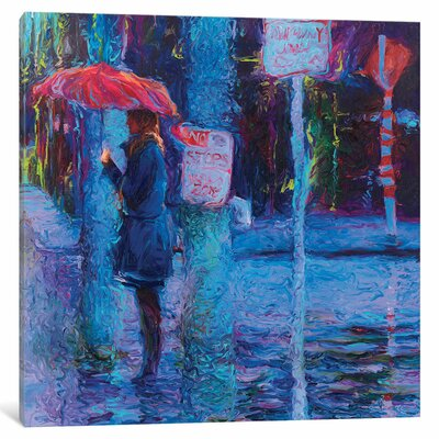 Iris Scott - No Stops in Freemont Painting Print on Wrapped Canvas Size: 12