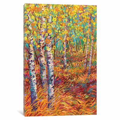 Candyland Painting Print on Wrapped Canvas