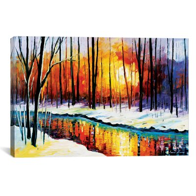 Winter Sun Graphic Art Size: 12