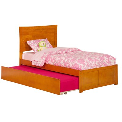 Amy Twin Platform Bed with Trundle Finish: Caramel Latte