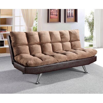 Hertford Convertible Sofa Upholstery: Mocha / Brown