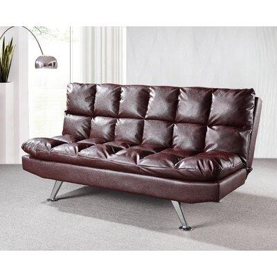 Hertford Convertible Sofa Upholstery: Cappucino
