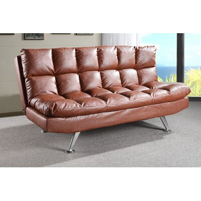 Hertford Sleeper Sofa Upholstery: Brown