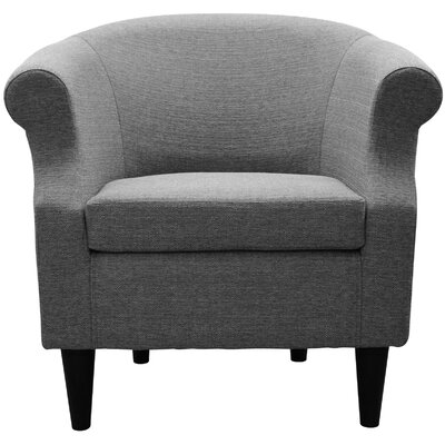 Marsdeni Barrel Chair Upholstery: Depalma Granite