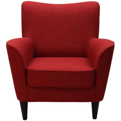Milperra Arm Chair Upholstery: Dum Dum Cherry