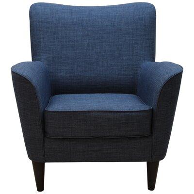 Milperra Armchair Upholstery: Dum Dum Blue Admiral
