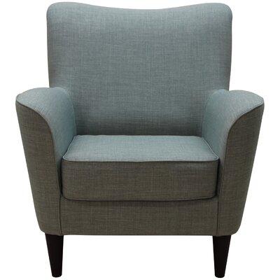 Milperra Armchair Upholstery: Dum Dum Eucalyptus
