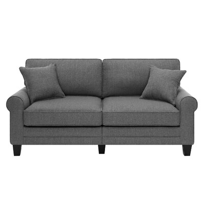Latitude Run LATR2538 32001398 Nell 73″ Rolled Arm Sofa Upholstery