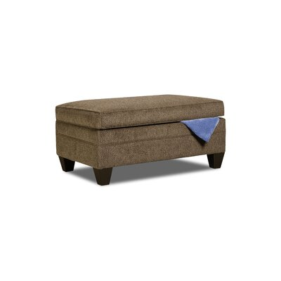 Simmons Upholstery Heath Storage Ottoman Upholstery: Albany Truffle