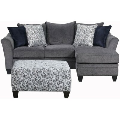 Simmons Sectional Upholstery: Albany Truffle