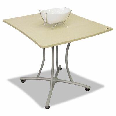 Beatriz 31.5 W x 33 L Rectangular Gathering Table Finish: Oatmeal