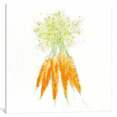 Garden Delight VIII Painting Print on Wrapped Canvas Size: 12