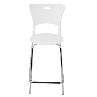 Galston 25 Bar Stool Finish: White