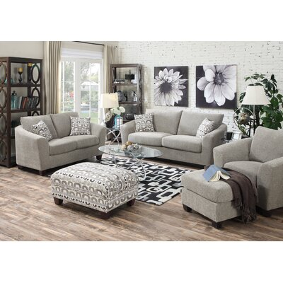 Collinsville 3 Piece Sofa & Pillow Set