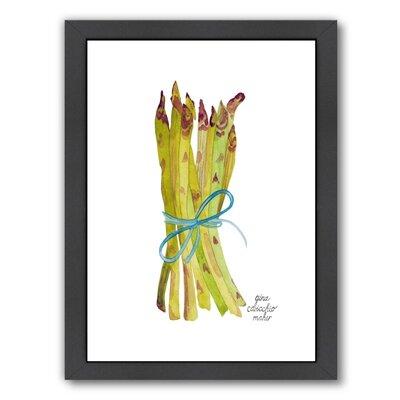 Asparagus Framed Original Painting