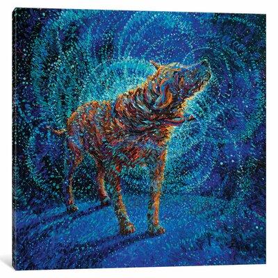 Iris Scott - Polarized Painting Print on Wrapped Canvas Size: 12