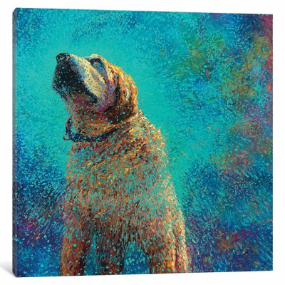 Iris Scott - Still Shakin Painting Print on Wrapped Canvas Size: 12