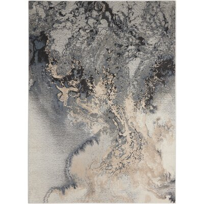 Mana Grey Area Rug Rug Size: Rectangle 710 x 106