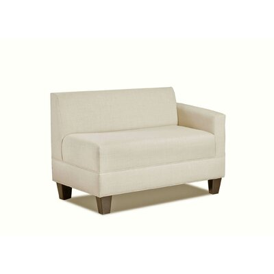 Eric Right Arm Loveseat Color: Natural