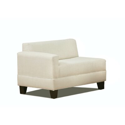 Eric Left Arm Loveseat Upholstery: Natural