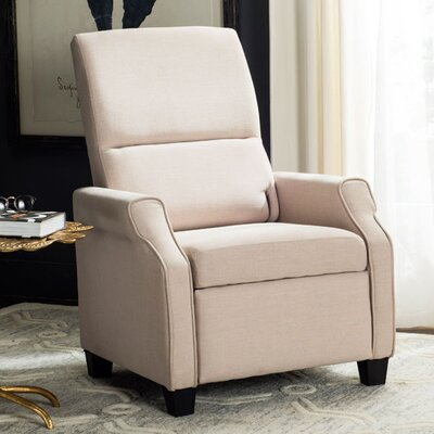 Aria Manual Recliner Upholstery: Beige