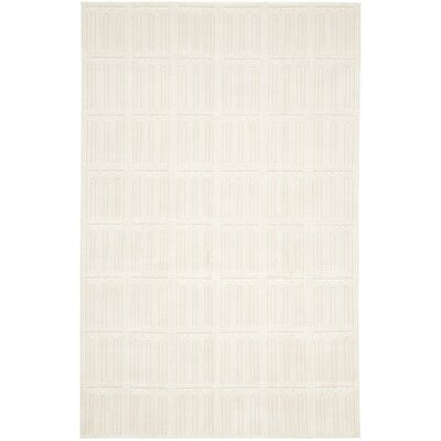 Tyra Hand-Knotted Ivory Area Rug